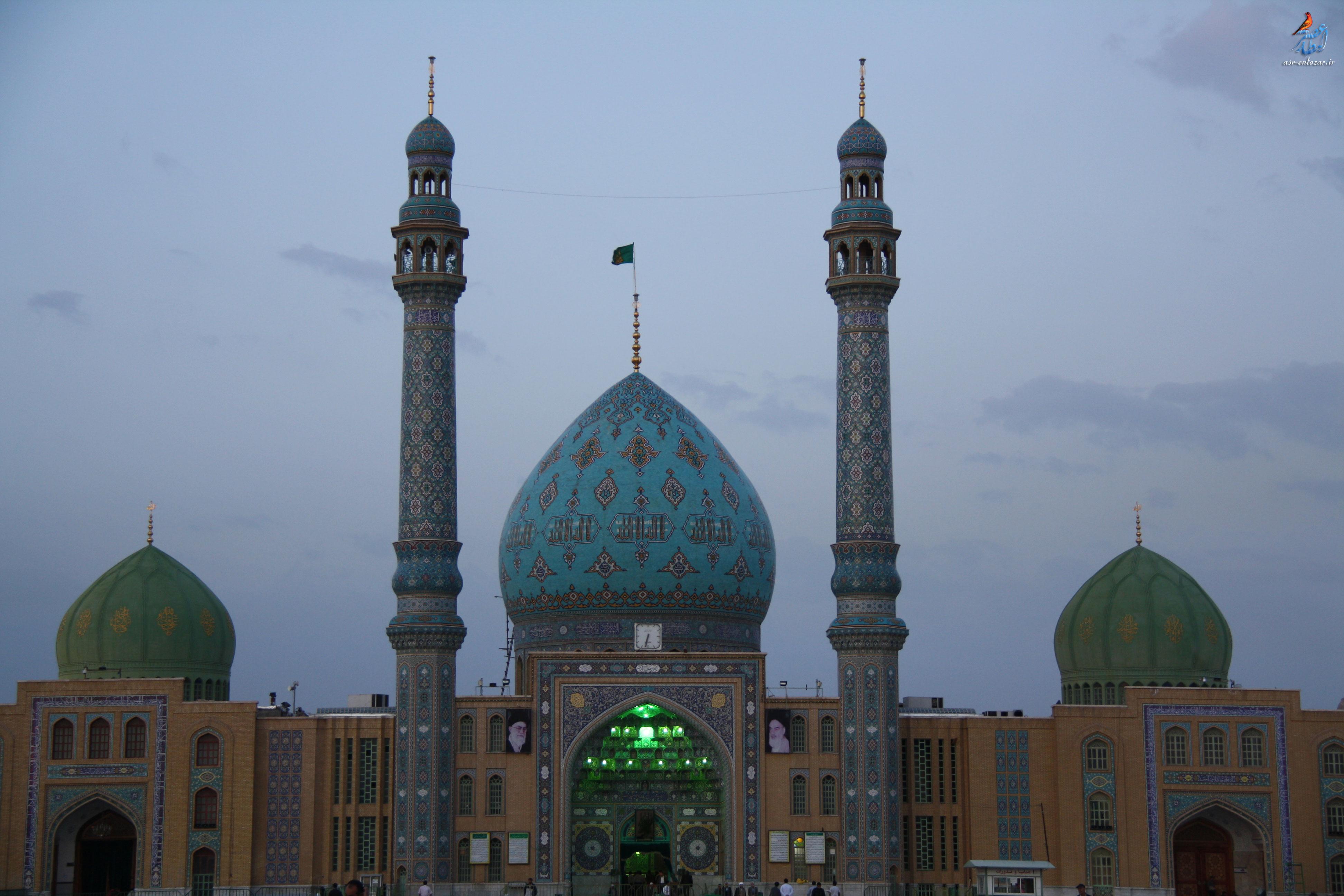 عکس مسجد جمکران با کیفیت بالا
